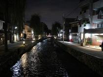 白川の夜景
