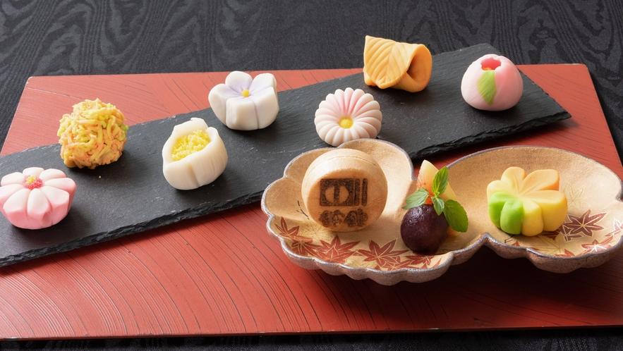 見た目にも美しい、繊細美が光る手作り和菓子