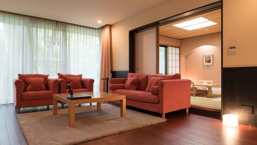 【桜-SAKURA-】リビング・テラスリニューアル。床暖完備でモダンな木の温もりが素足で感じられます