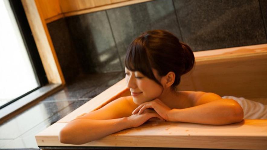 お好きな時間に磐梯熱海温泉をお楽しみいただける客室風呂