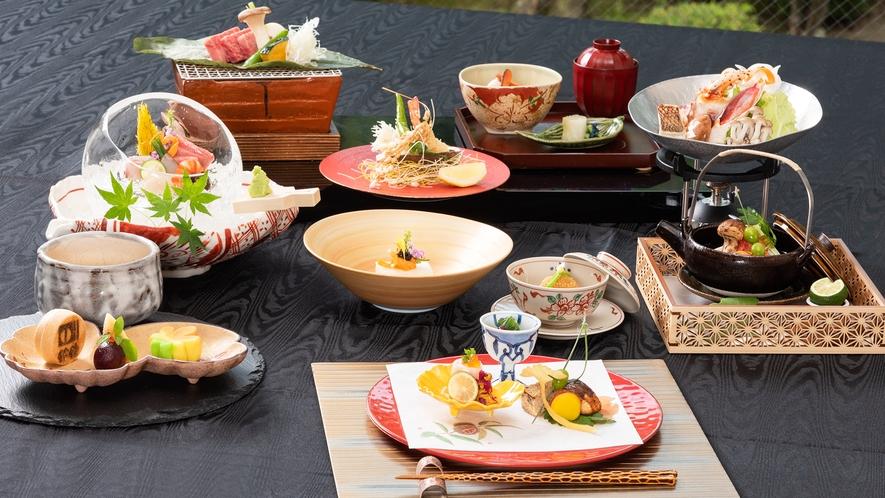 料理長件選食材をたっぷりと。福島の美食を思う存分!