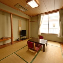 *和室一例/おひとり様やカップル・ご夫婦に丁度良い広さのお部屋です