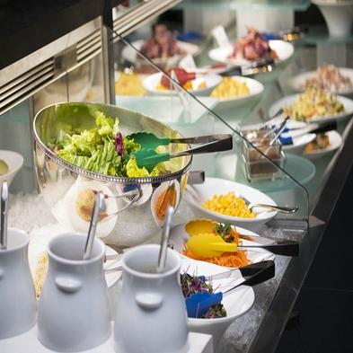 TOKYO X と国産牛のプレミアムハンバーグ★サラダ&スイーツブッフェ付¥4,600ディナー+朝食