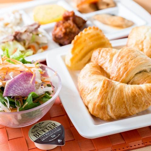 【健康朝食】和洋食バイキングです。