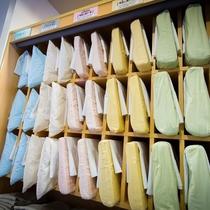 8種類の選べる枕♪