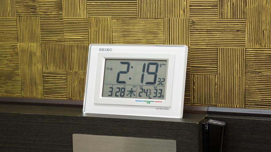 客室時計(アラーム機能付き)