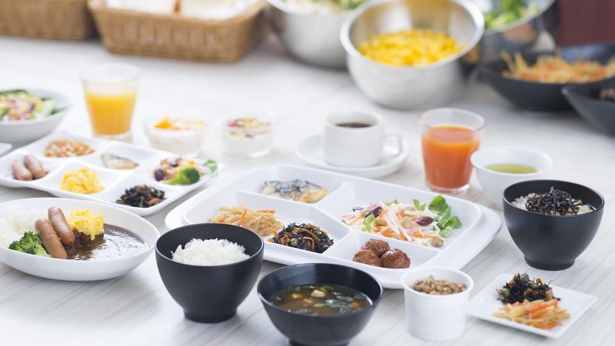 朝食ビュッフェ~一日の力の源に~