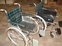 車椅子のご用意もあります
