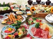 2018夏《ファミリープラン》家族みんなで楽しめる大皿料理!! ※写真は3人前です。