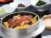鰻釜飯をひつまぶし風に味わう