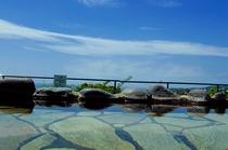 海の絶景と温泉
