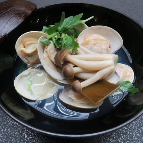 蛤酒蒸し900円