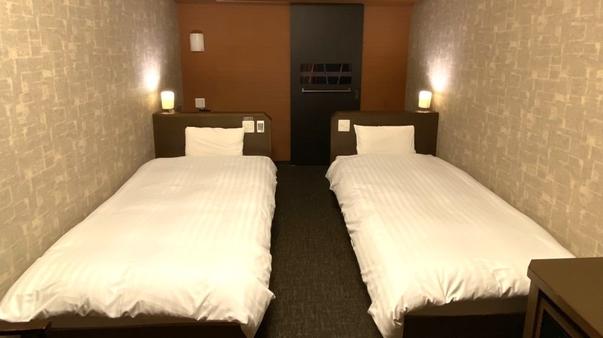 ◆禁煙ツイン◆シモンズ社製ベッド使用<21平米>