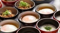 ◆朝食 納豆・温泉玉子◆