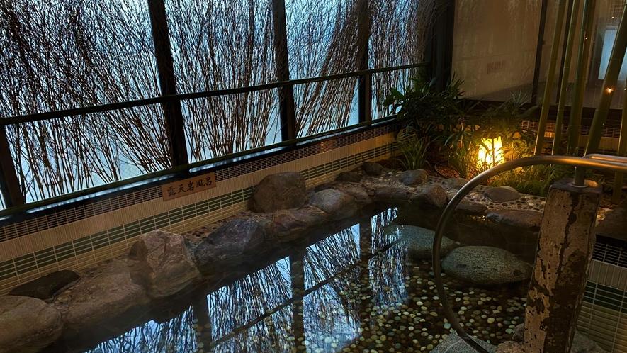 ◆【女性】外気浴(岩風呂)◆