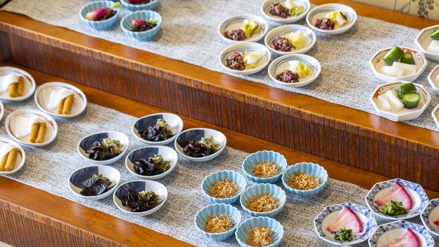 ◆ご朝食 ご当地京漬物 ~ぎおん川勝~◆