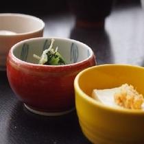 ◆小鉢②※季節によって内容は異なります。