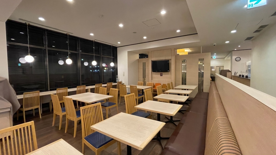 ◆朝食レストラン1階ーHATAGOー 座席数54席