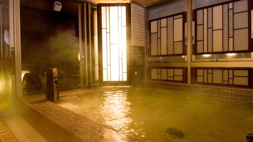 ◆《女性》内湯(湯温40∼41℃)【泉質】ナトリウム・塩化物強塩温泉