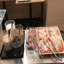 ◆サラダコーナー②※季節によって内容は異なります。