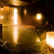 最上階大浴場【関門の湯】男性露天◆営業時間15:00~翌10:00◆