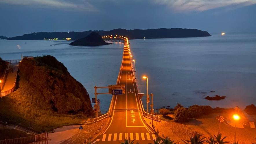 ◆角島大橋(ライトアップ)