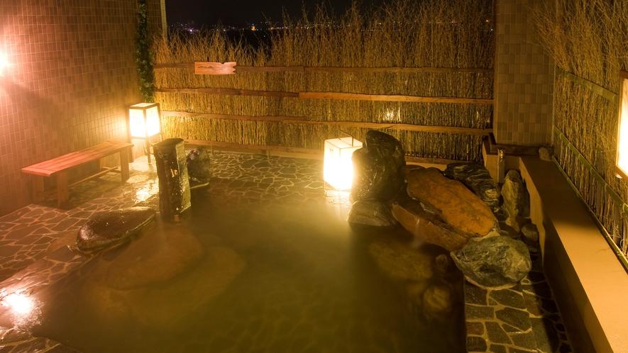 ◆《女性》露天風呂(湯温41∼42℃) 関門海峡を一望できます!行き交う船舶を眺めながらお寛ぎ下さい