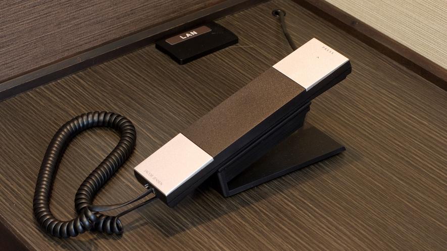 ◆館内電話(フロントへは内線番号7番)