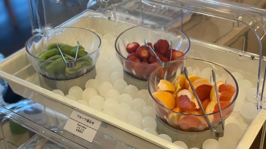 ◆デザートコーナー♪フルーツ(※季節によつて内容は変わります)