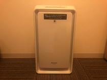 客室空気清浄機:各部屋にございます