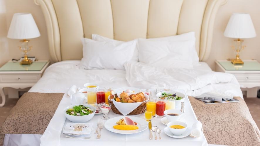 ルームサーヴィス 朝食