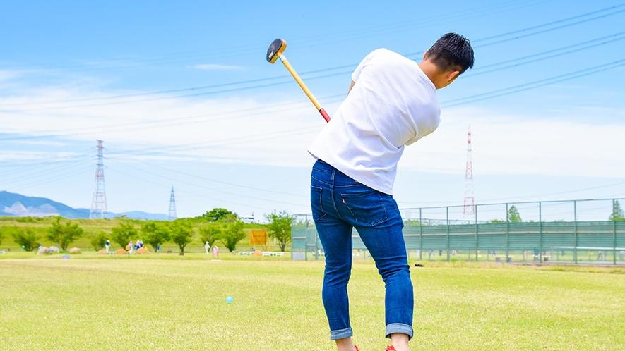 *グラウンドゴルフ