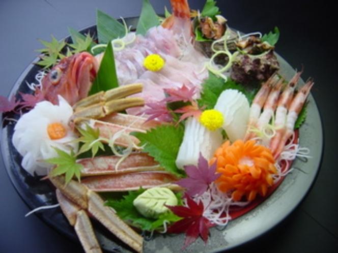 旬の地魚お刺身です。