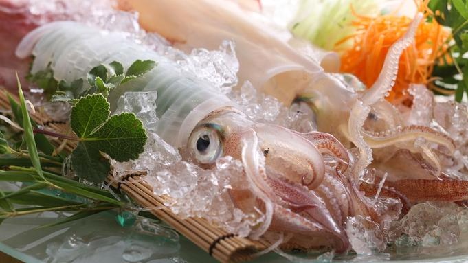 【  当館人気 】 <夏の夢の活け尽くし> 香住の美味をこれでもか! ◆ 活白いかに活おこぜ薄造り!