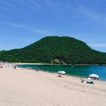 夏の佐津海水浴場