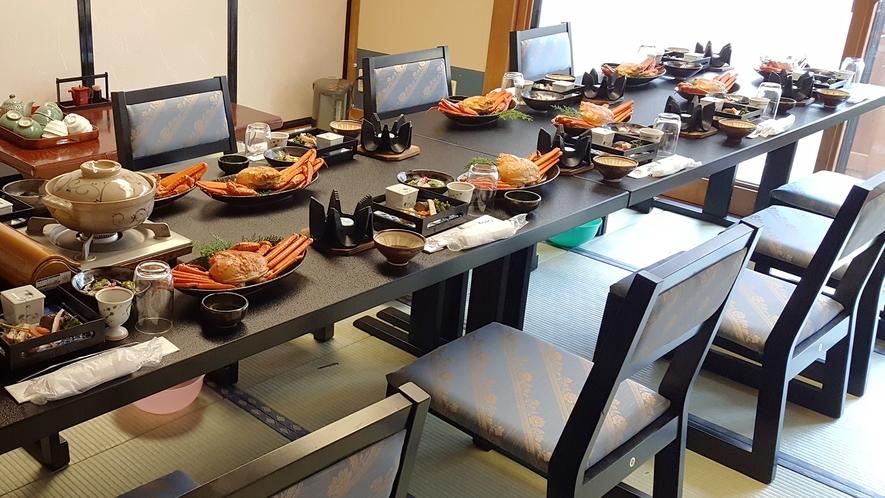 個室宴会場テーブル席一例