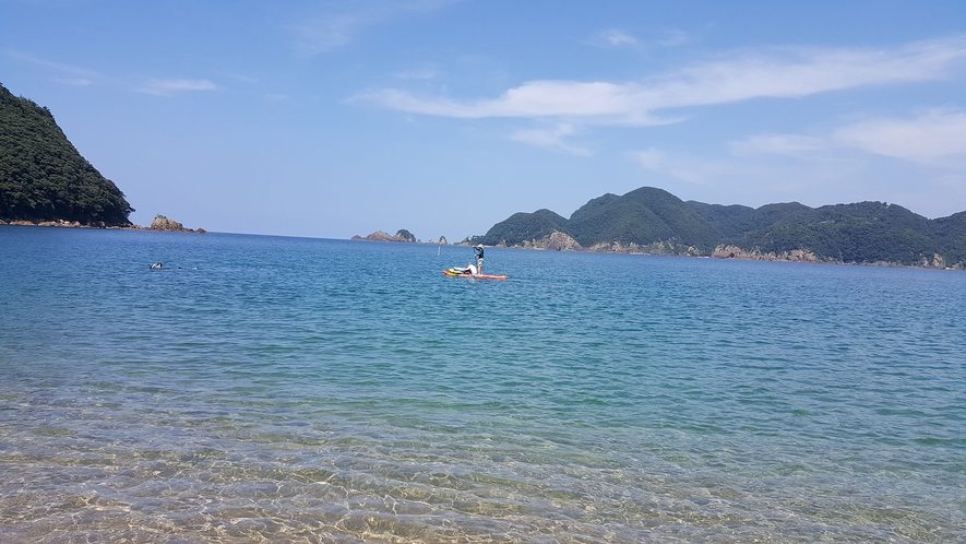 夏の佐津海岸