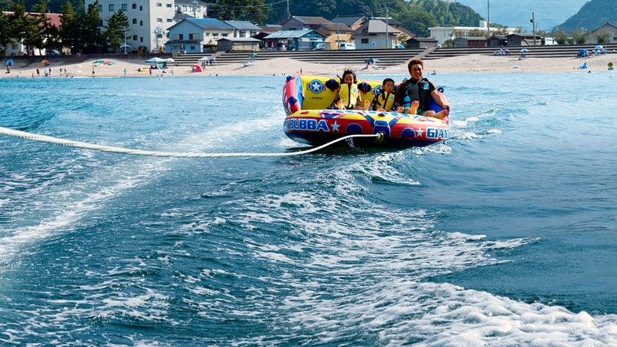 夏の海のお楽しみ!