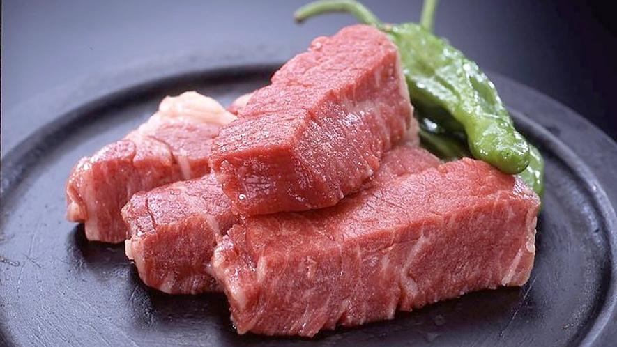 国産牛ステーキ一例
