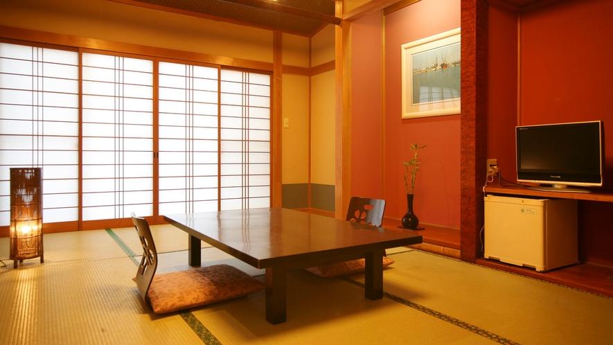 お部屋は落ち着いた和室です。