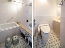 ツインルーム バスルーム一例