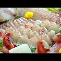《旬魚の姿造り》