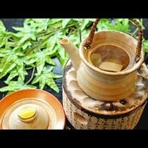 『松茸の土瓶蒸し』