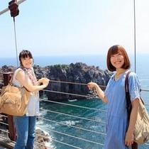 城が崎の吊り橋