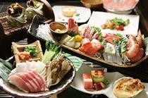 ある日の夕食・地金目鯛のしゃぶしゃぶ
