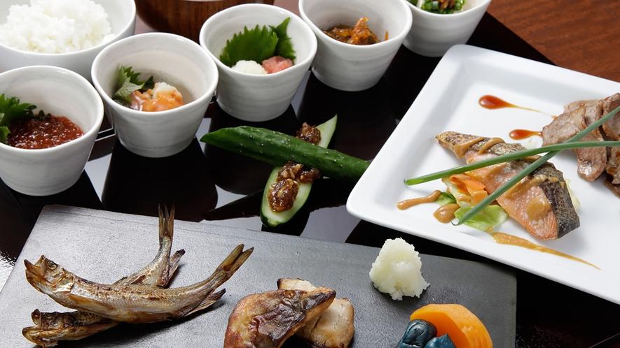 道産食材を使用した和食