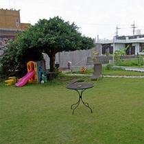 *お庭の様子