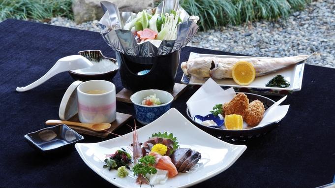 姿盛りコースよりお手軽【海鮮定食】9,230円〜!リーズナブルに海の幸を満喫したい方へ!1名利用OK