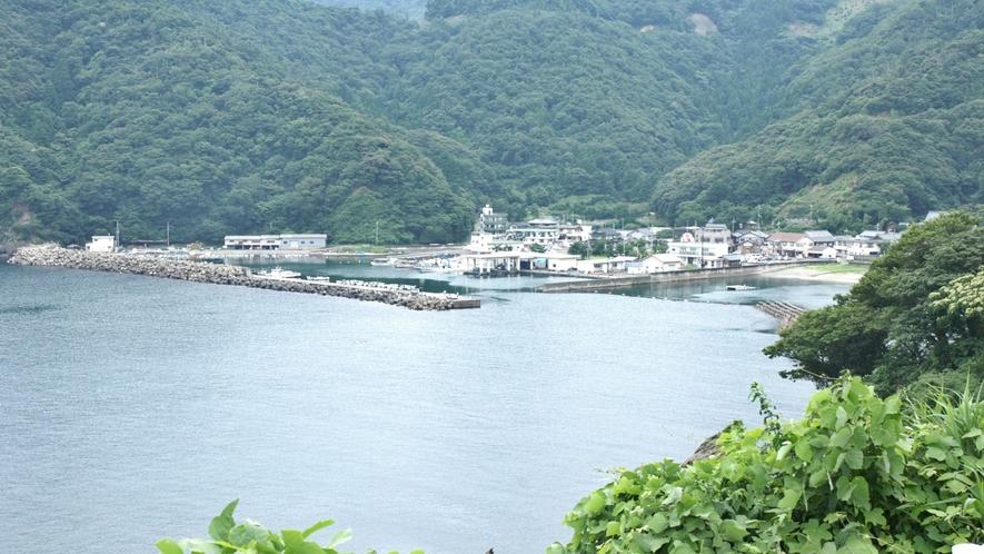 *周辺観光:世久見漁港