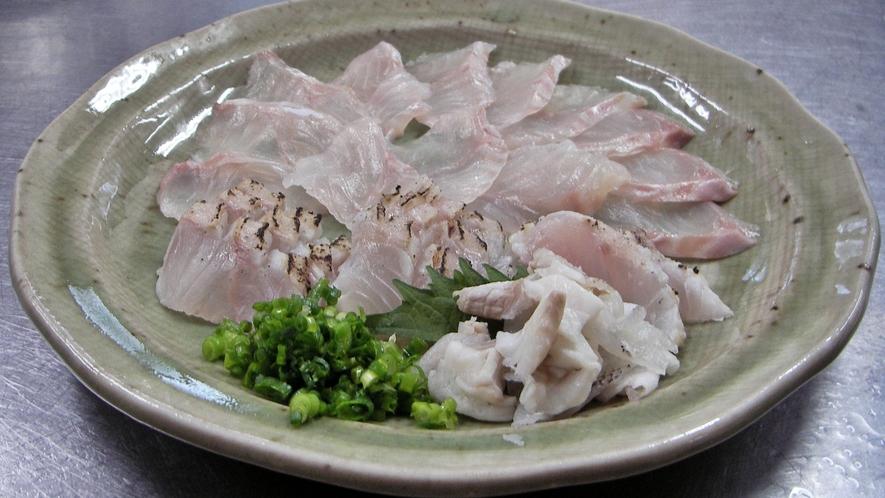 *【くえコース】淡白で旨みのある高級魚をお楽しみ下さい